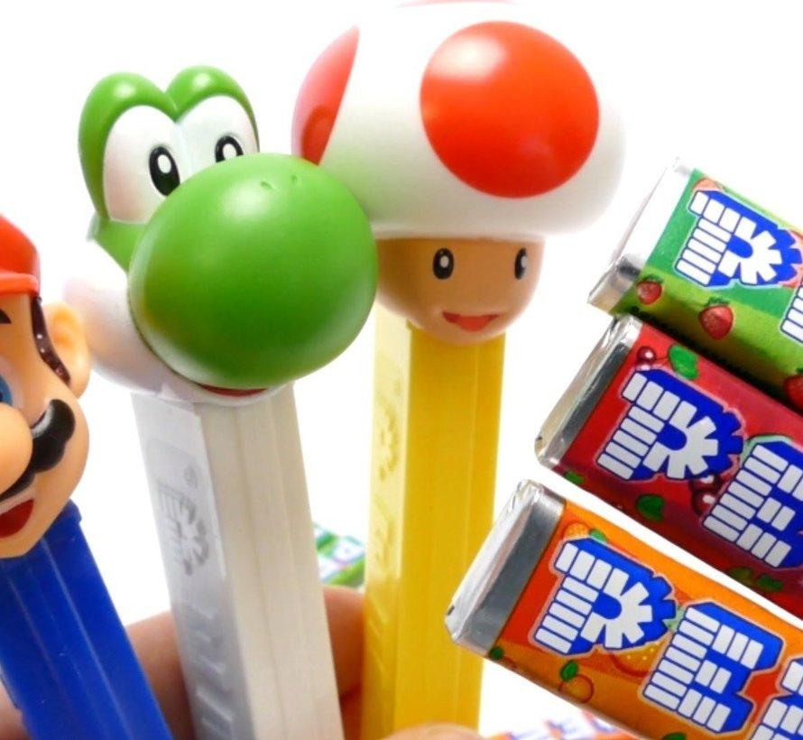Nintendo Super Mario Pez Standup Blis - Doos 12 Stuks