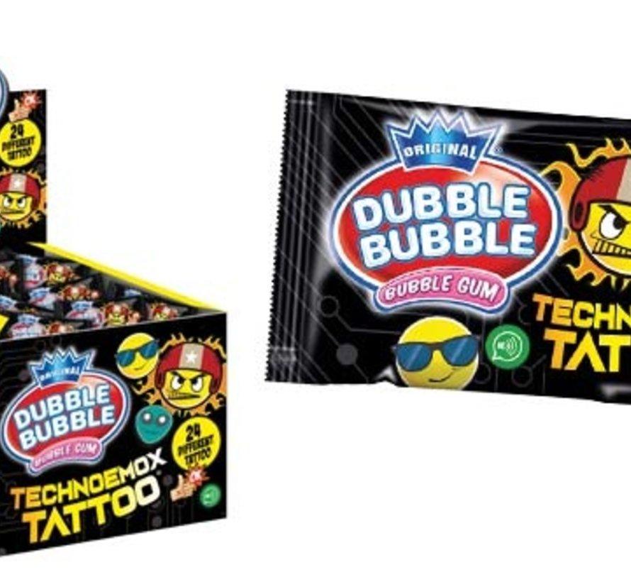 Tattoo Bubble Gum -Doos 200 stuks