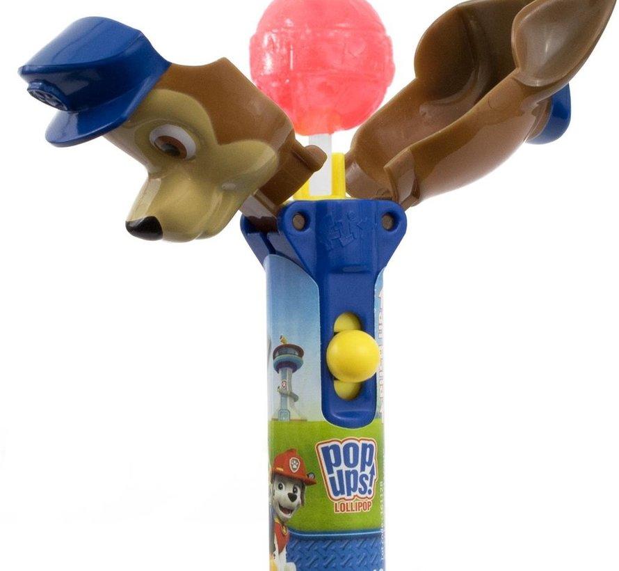 Paw Patrol Pop Ups Lollipop -Doos 12 Stuks