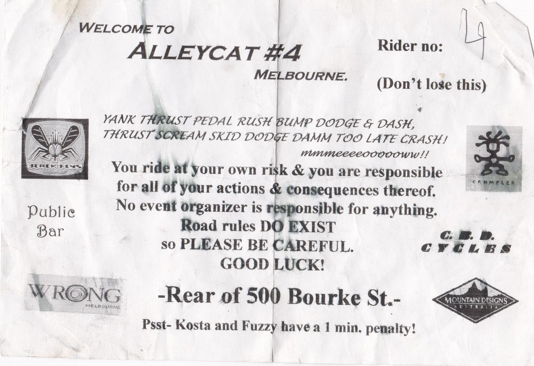 Alleycat Melbourne