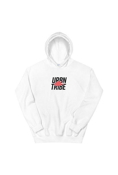 URBN TRIBE HOODIE UNISEX WHITE