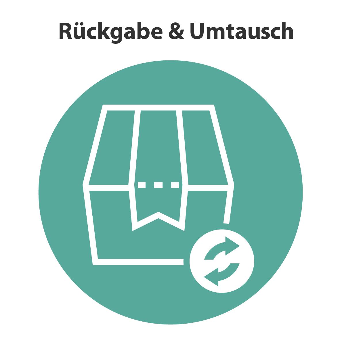 Rückgabe & Umtauch