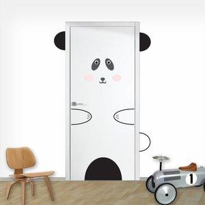 Daring Walls Deursticker Panda