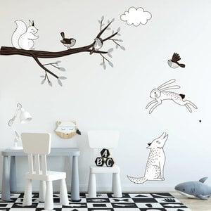 Daring Walls Muursticker Tak Forest grey