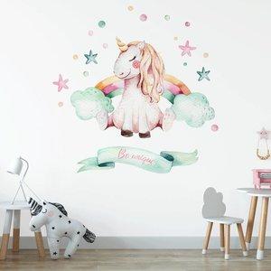 Daring Walls Muursticker Unicorn 1 Be unique