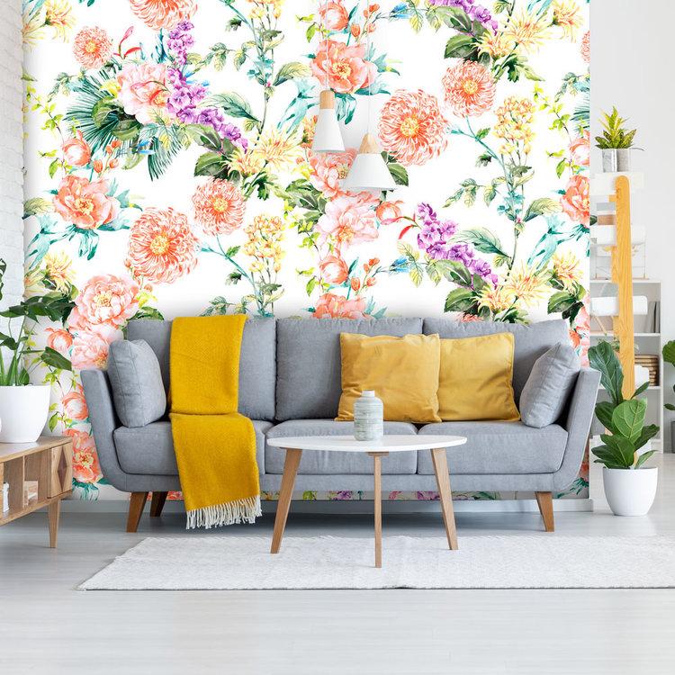 Daring Walls Behang Paradise 2- white