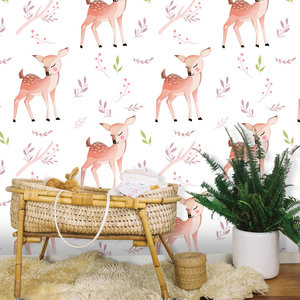Daring Walls Behang O my deer