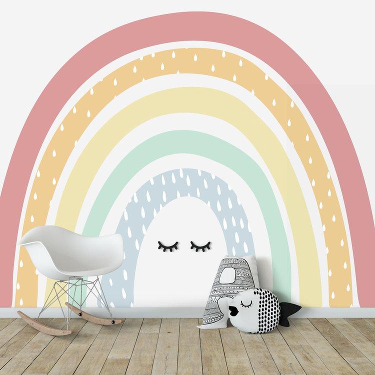 Daring Walls Kinderbehang Rainbow XL Pastel
