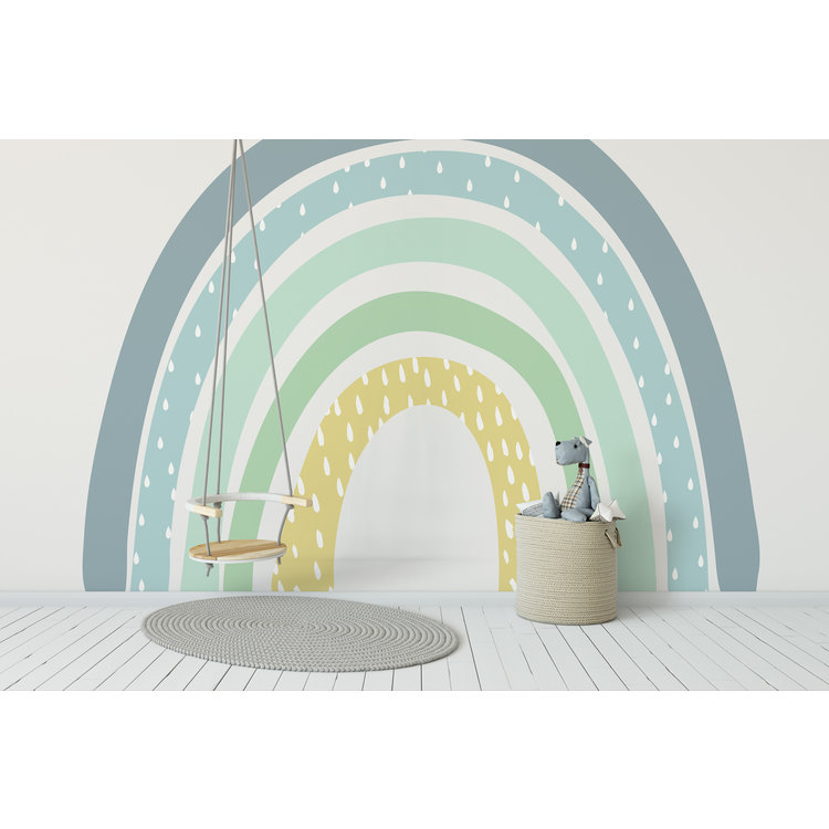 Daring Walls Kinderbehang Rainbow XL Blue