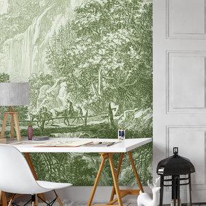 Daring Walls Behang Old Landscapes 1- green
