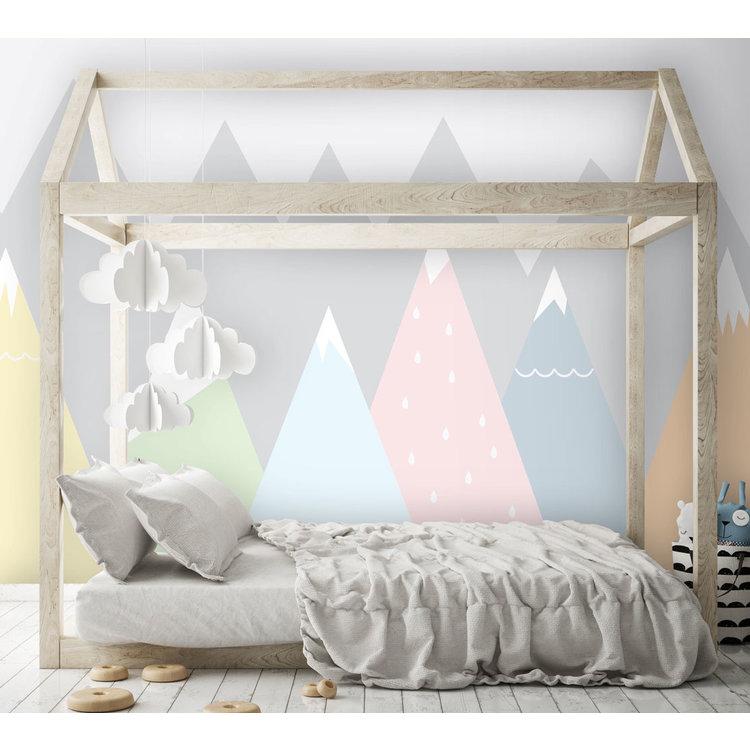 Daring Walls Kinderbehang Summits - pastels
