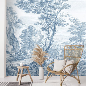 Daring Walls Behang Old Landscapes 3- blue