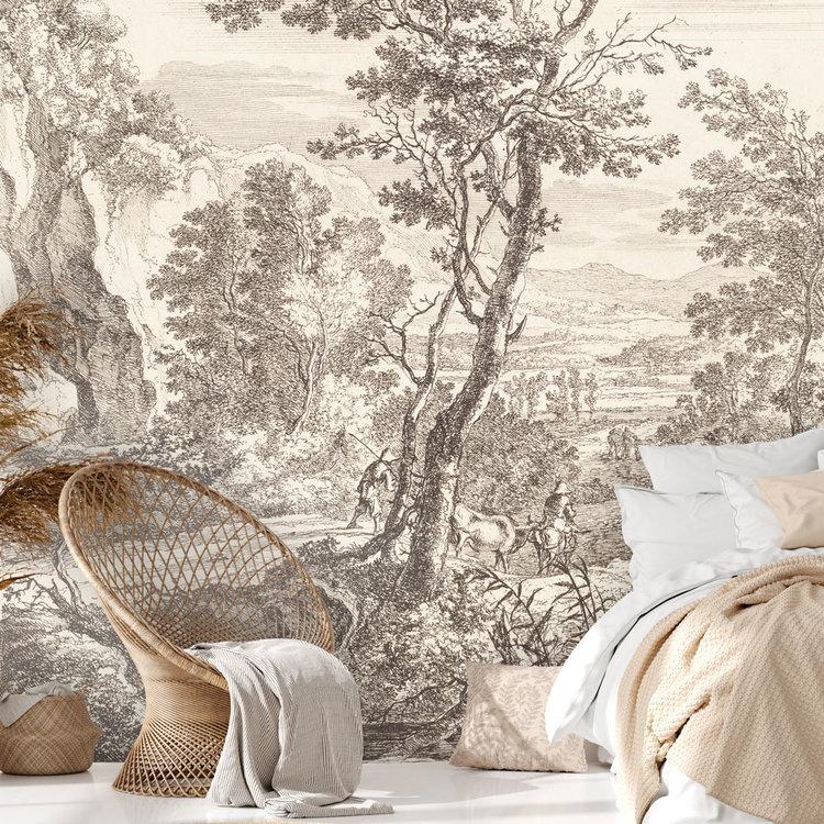 Daring Walls Behang Old Landscapes 3- original