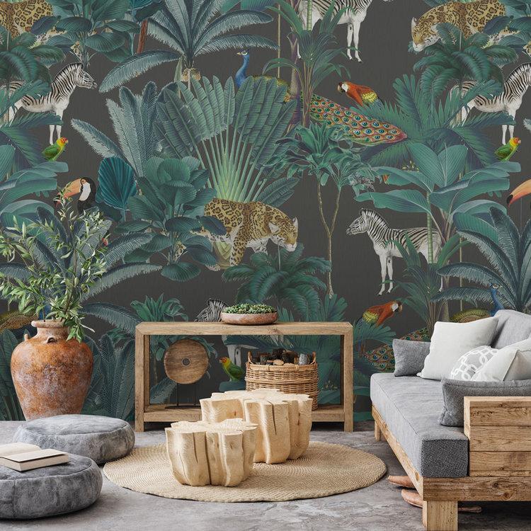 Daring Walls Behang Royal palms - antra