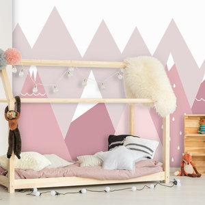 Daring Walls Kinderbehang Summits - pink - SALE