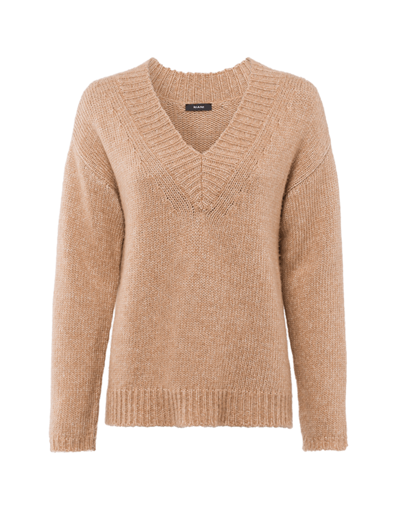 Riani Pullover with wool tan