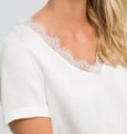 Marc Aurel Top kant white