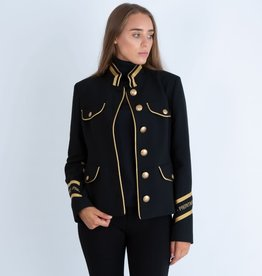 Riani Jacket black gold details