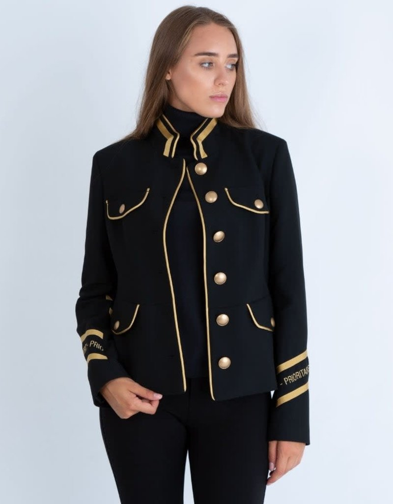 Riani Jacket black gold details