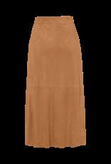 Riani Leather skirt hazel