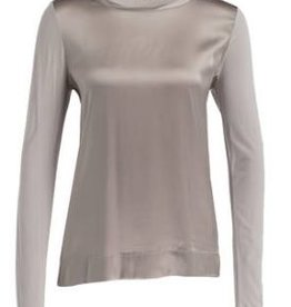 Marc Aurel Blouse/Top Marc Aurel zijde look taupe