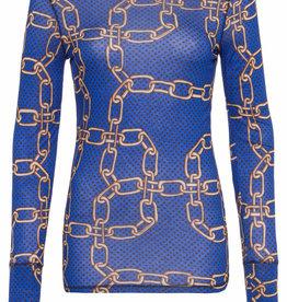 Marc Aurel T Shirt met leuke ketting print