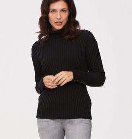 Cavallaro Reina roll neck pullover Black