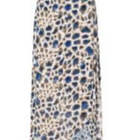 Marc Aurel Rok Bleu Camel All over print