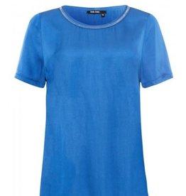 Marc Aurel Top Satijn Look Blue