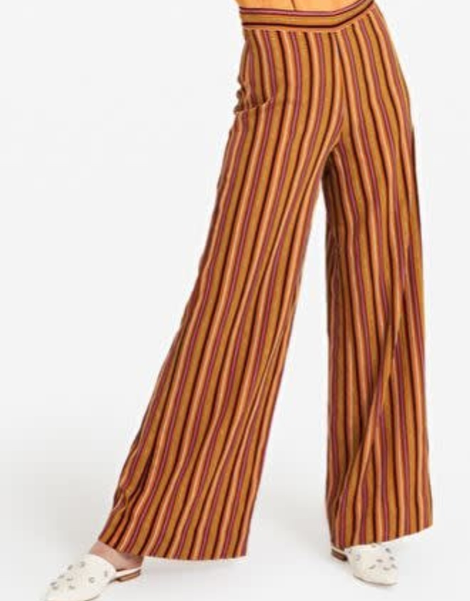Ottod'Ame Wijde Pantalon streep Multicolor