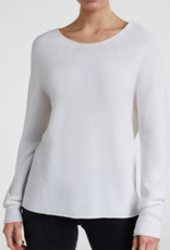 Oui Pullover Ronde hals Off White