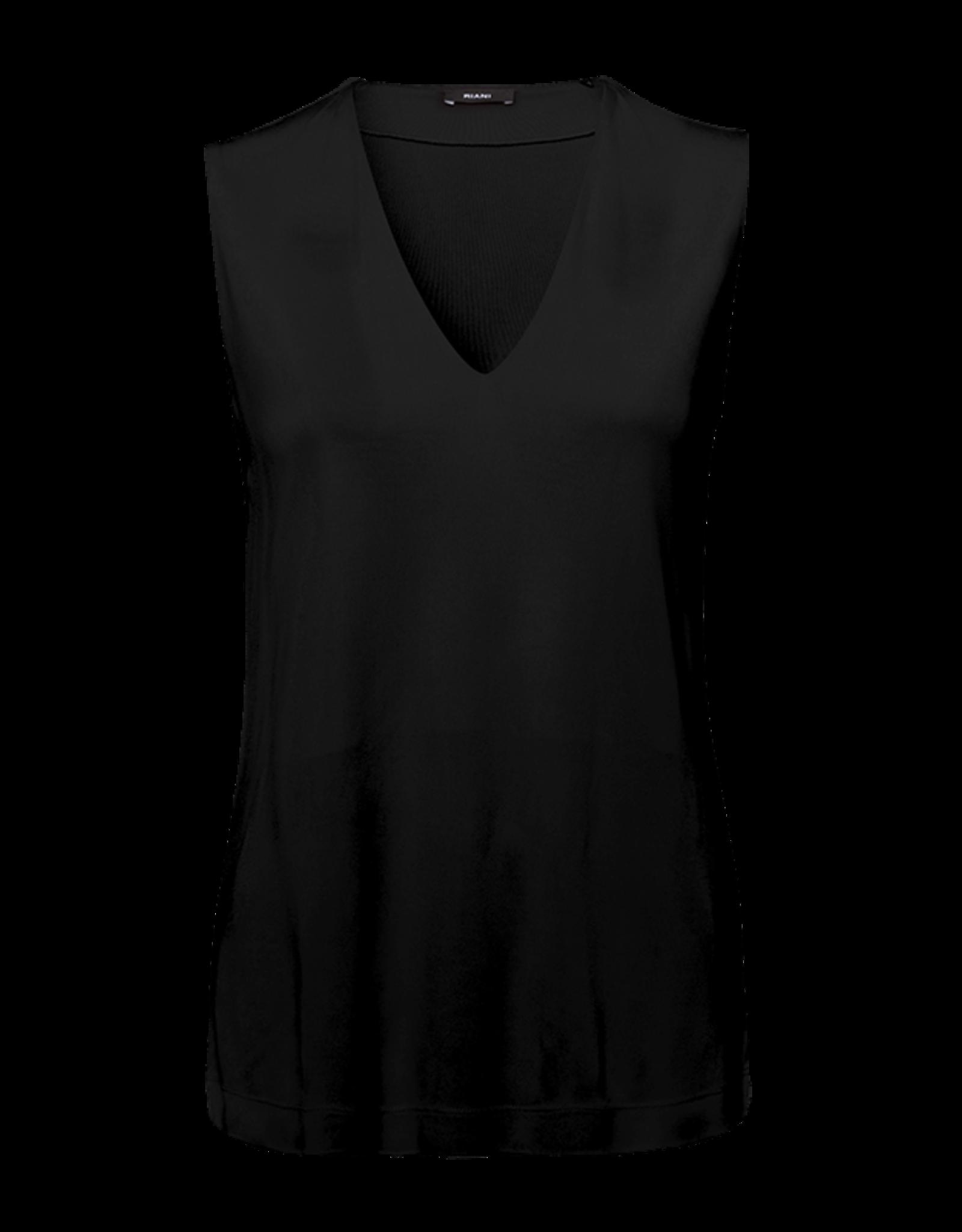 Riani Losvallende top V-hals Black