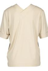 Riani Shirt V Neck voor achter Zijde detaill ivory