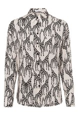 Riani Blouse all over print Ivory Patterned