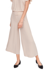 Riani Wijde pantalon met brede taille band Pale Almond