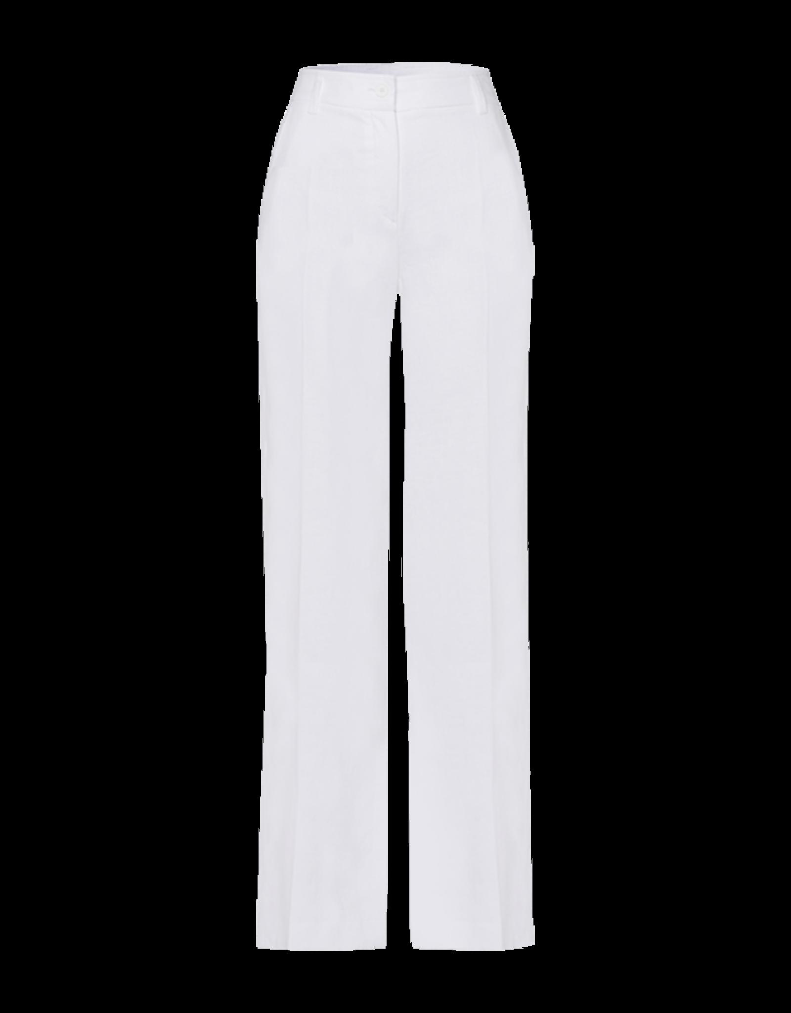 Riani Wijde Pantalon Linnen White