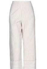 Maria Bellentani Pantalon Palazo Bianco Nero