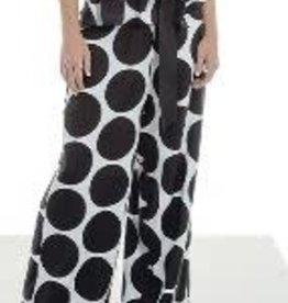 Maria Bellentani Pantalon Super Dots Nero