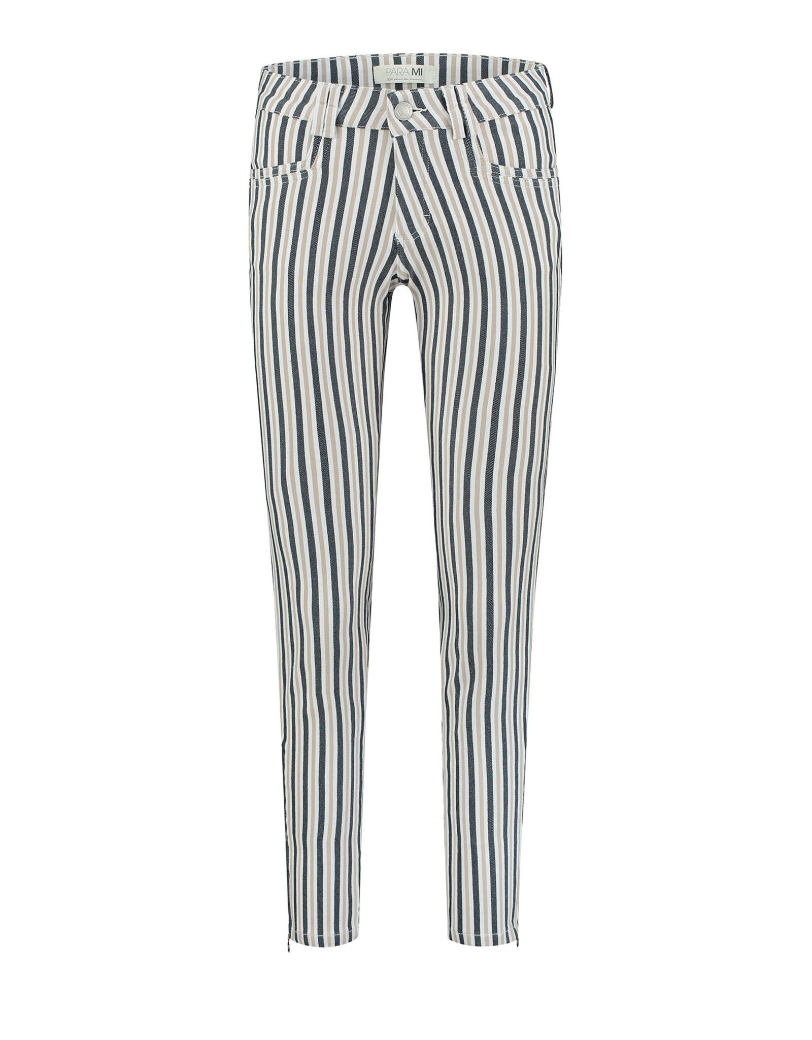 Para MI Amber Multi color stripe Sandy Camel
