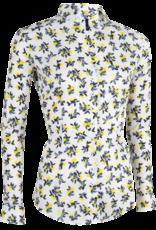 Cavallaro Blouse White Yellow