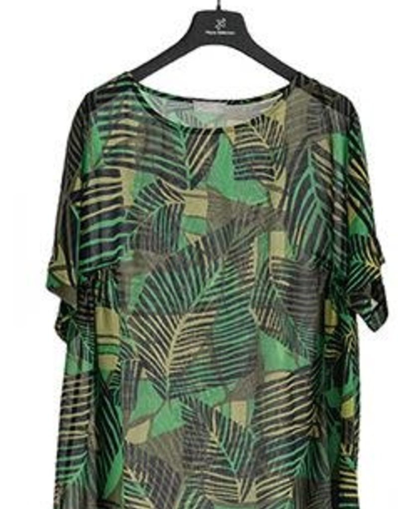 Maria Bellentani Shirt Mesh Feici Verde