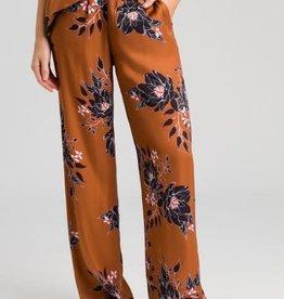 Marc Aurel Wijde Pantalon Cinnamon Varied bloemen print