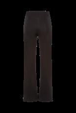 Riani Wijde Pantalon elastische taille band Black