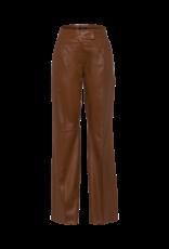 Riani Leather trousers hazel