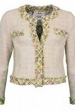 Riani Chanel Jasje Pastel ruit afwerking