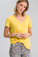Marc Aurel Linnen Shirt geel