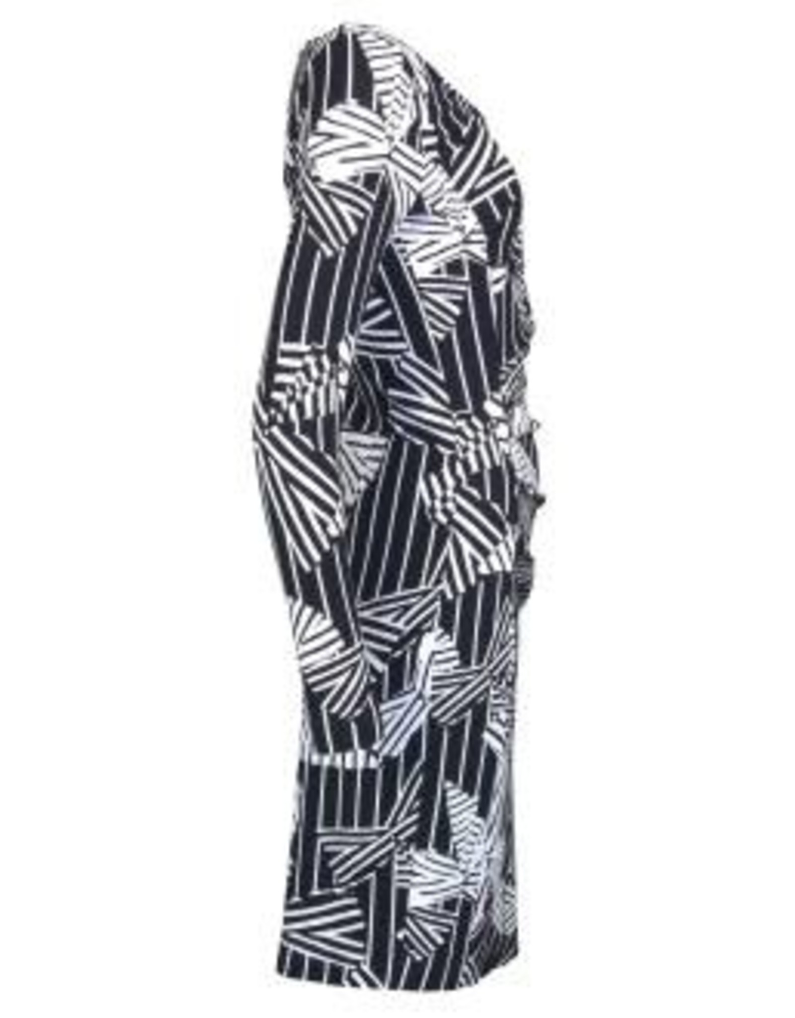 Riani Jurk All over Print White Navy