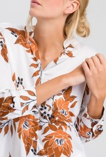 Marc Aurel Blouse White Varied Bloemen Print
