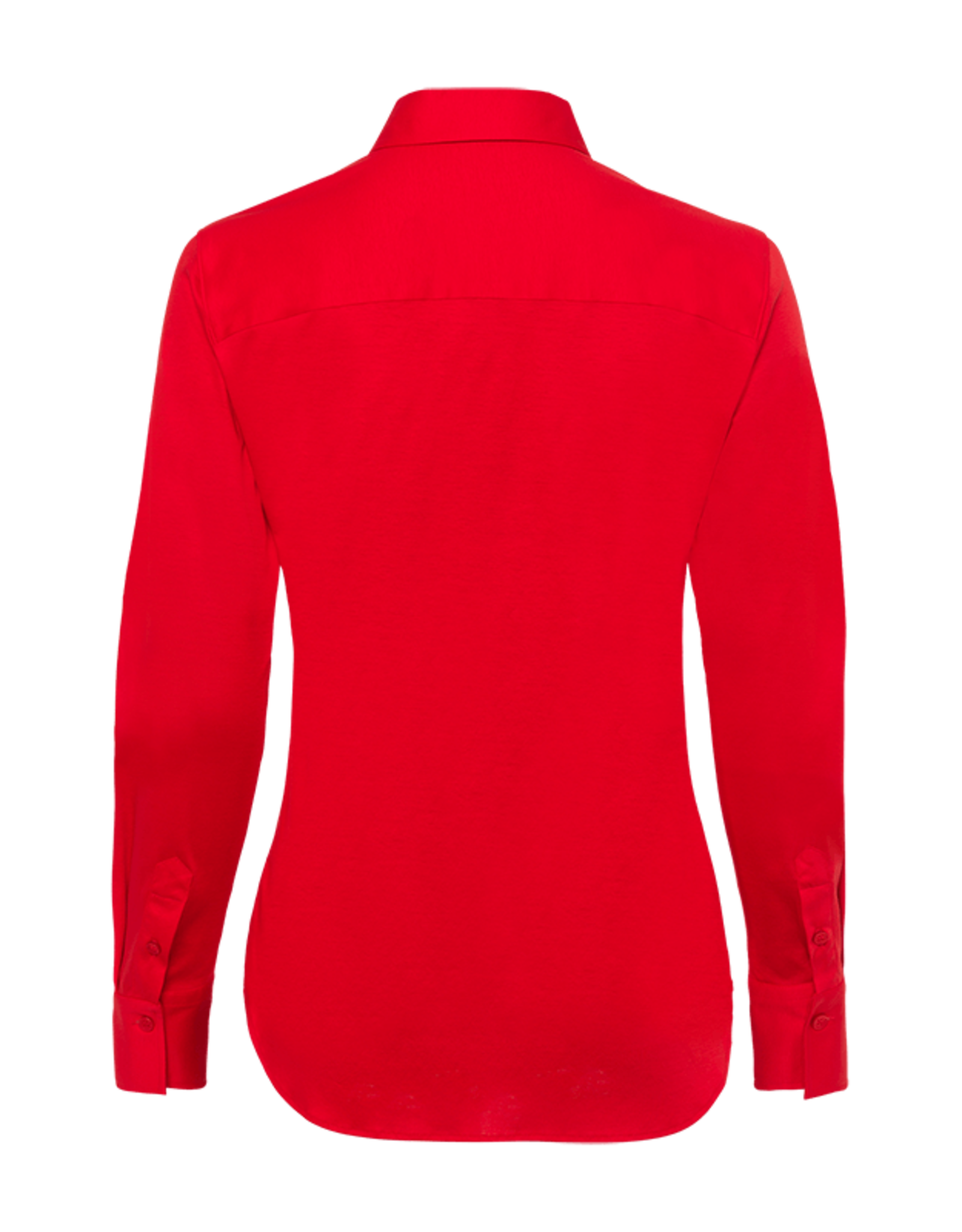 Riani Basis blouse Fire Red stretch