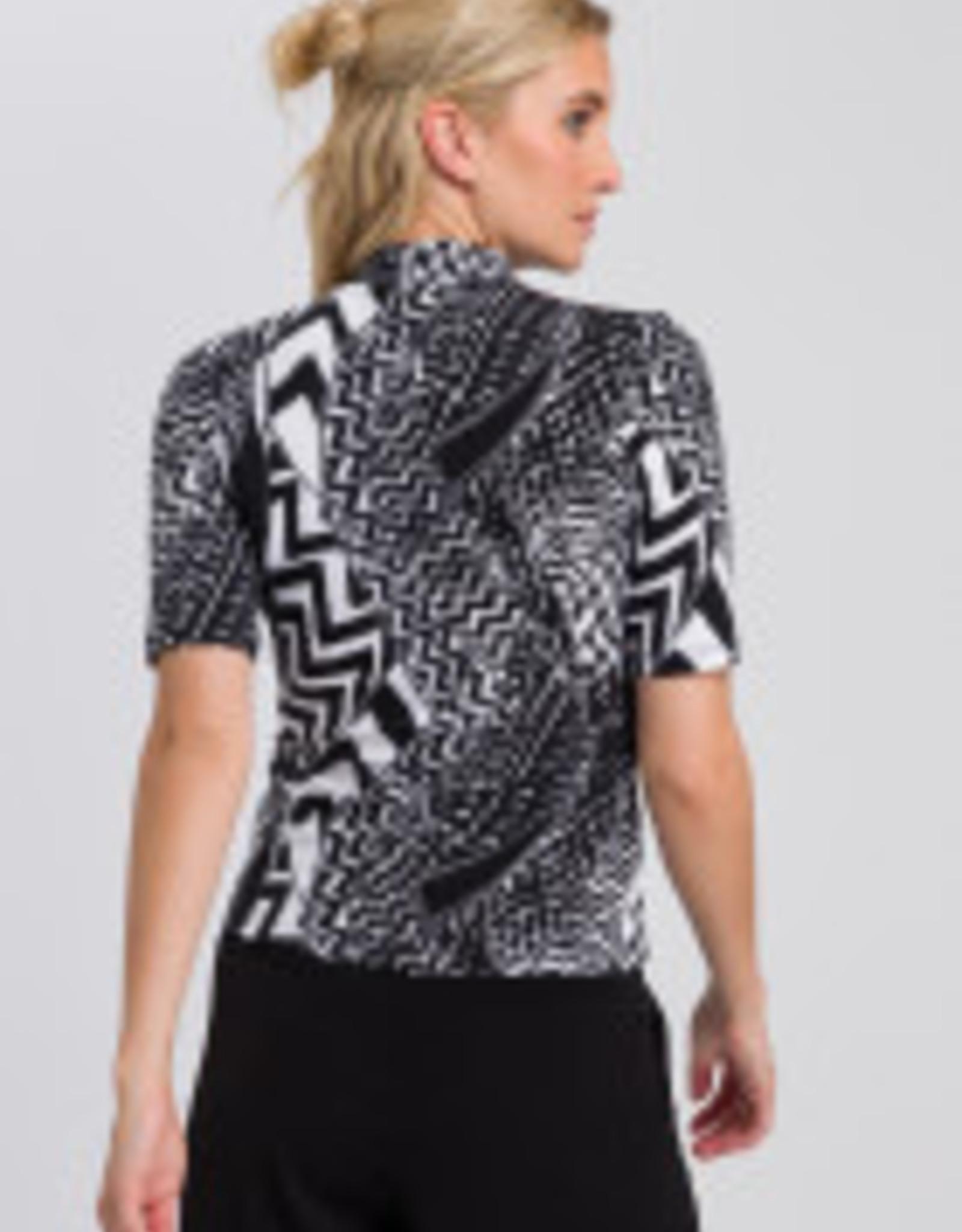 Marc Aurel T shirt Black Varied